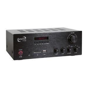 Dynavox Stereo Kompakt-Verstärker VT-80 Black 207466