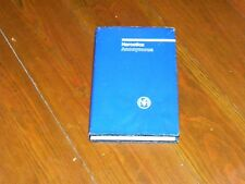 Narcotics Anonymous Collectors RARE NEAR NEW 1985 3RD ED 2ND PRTG BASIC TEXT ODJ