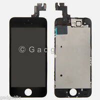 US LCD Screen Display + Touch Screen Digitizer Glass Front Camera for Iphone 5S
