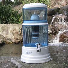 Premium Water Filter Ceramic Charcoal Mineral Purifier Bottle Prestige Dispenser