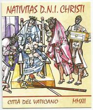 VATICANO - Natale 2012 Libretto **