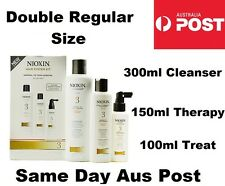 Nioxin System 3 Starter Kit Fine Coloured Hair w/ 300ml Cleanser & 150ml Therapy