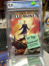 YEAR OF THE VILLAIN: HELL ARISEN 3 CGC 9.8 1st Appearance Punchline DC Comics