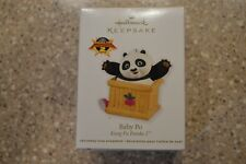 Hallmark 2011 Kung Fu Panda 2 Baby Po Dragon Warrior Keepsake Ornament (BA)