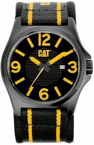 Men's Caterpillar DP XL Leather Strap Watch PK16161137