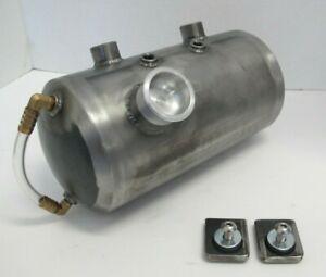 """Tinworksinc Harley/Chopper/Bobber/Sportster/Oil Tank,Side Fill,Sight Tube 5"""""""
