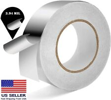 Aluminum Foil Tape 2in X 55 Yd Heat Resistant Waterproof Insulation Home Repair