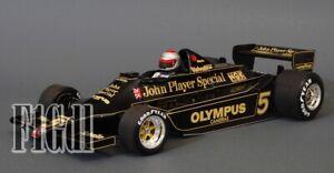 Mario Andretti World Champion 1978 Minichamps Lotus 79 Esc. 1/18