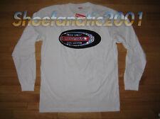 Supreme F*ck What You Heard Long Sleeve L/S Shirt L Blazer Box Logo Tyson White