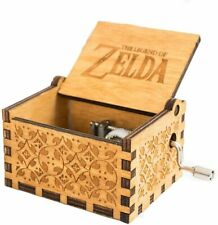 LLuuer Carillon Zelda Music Box, meccanismo 18 Note Antique Carved Wood