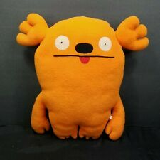 "Ugly Dolls Orange Mrs. Kasoogi Moose Antlers 13"" Plush Stuffed Animal Doll"