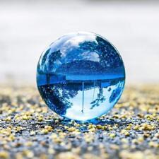 40mm Dark Blue Glass Crystal Photography Lens Ball Photo Prop Background Decor