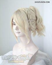 Final Fantasy XV / FFXV Lunafreya Nox Fleuret cream blonde cosplay wig