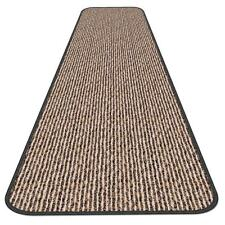 10 Ft X 48 In Skid Resistant Carpet Runner Black Ripple Hall Area Rug Floor
