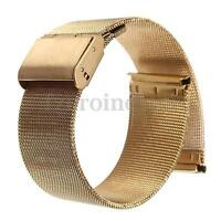 18-24mm Stainless Steel Men&Women's Watch Mesh Band Bracelet Strap Replacement