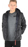 G Star Grey Coat Jacket Quilted Size Extra Small *REF71*