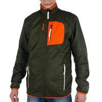 Mens Reebok Jacket Fleece Casual Rain Slim Fit Transition Zipped Sports Coat