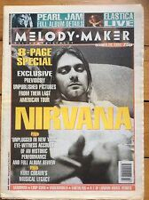 Melody Maker 29/10/1994 Nirvana cover, Senseless Things, Bret Easton Ellis