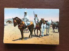 ca4 postcard Unused soldiers of sudan cavaliers