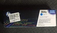 NEW GENUINE HP CC531A Cyan Toner Cartridge 304A unopened Box  CP2025dn 2320fxi