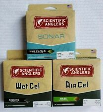 SCIENTIFIC ANGLER FLY FISHING LINE:NIB SONAR, AIR CELL, WET CELL
