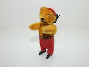 Schuco frühe Tanzfigur Bär mit Mütze ( 65350 )