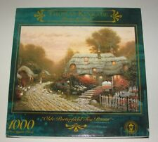 NEW THOMAS KINKADE Painter of Light  Olde Porterfield Tea Room Puzzle 1000 Pc.