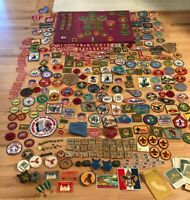 Lot of 373 + Vintage BSA Patches and  Insignias
