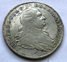 GERMANY BAVARIA SILVER 1 THALER 1781