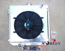 3 Row for Ford XW XY 302 GS GT 351 Cleveland Aluminum Radiator + Shroud + Fan