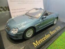 MERCEDES BENZ SL55 cabriolet bleu au 1/43 YATMING 94243C voiture miniature