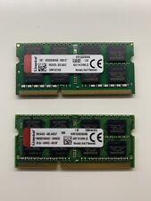 Kingston 16GB Memoria RAM (2x8GB)DDR3 SODIMMKVR1333D3S9/8G 1333MHz Mac Macbook