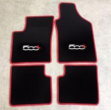 Autoteppich Fußmatten für Fiat 500L VAN SUV ab 2012' rot weiss rot 4tlg. Neuware