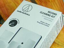 ♫  KIT VELVET BRUSH AUDIO TECHNICA AT 6012 Lp's & Vinyl RECORD CLEANING KIT ♫