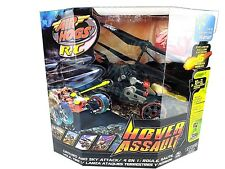 Air Hogs Hover Assault Black R/C Missile Launching Ground and Sky Attack