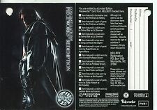 Hellboy The Movie Pieceworks Redemption Card PR1 [PW10] Redeemed [Clean]