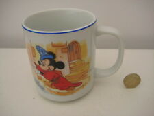 OLD  RETIRED MICKEY MOUSE SORCERER TEA COFFEE MUG WALT DISNEY WORLD JAPAN