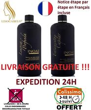 Kit Complet 2X150ml Lissage Brésilien Inoar Ghair Marroquino