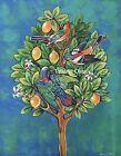"""'""""Lemon  Tree'' Acrylic Painting By Tatiana Oles"""