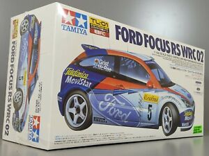 Rare New Tamiya R/C 1/10 Ford Focus RS WRC 02 4WD Car Kit TL01 Chassis 58292