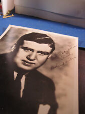 Richard ??    8 x 10    photo with signed personal note