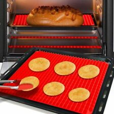 Silicone Bakeware Pad Sheet Baking Pyramid Oven Mat Cooking Non Stick 1/2 Pack