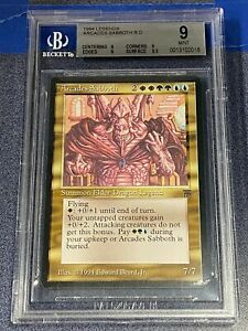 MTG Magic the Gathering Legends ARCADES SABBOTH Elder Dragon BGS 9  ~EBBFC-18
