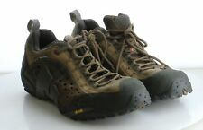 04-61 MSRP $117.50 Men's Size 11.5 Merrell Intercept Brown Leather Hiking Shoes