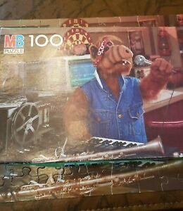 Vintage 1987 Alf Radio DJ 100 Piece Puzzle Complete 1980s TV