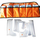 Emergency Kit Inflatable Air Splint Set Hand Wrist Arm Leg Ankle Pump Bag
