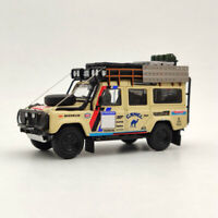 Land Rover Defender 110 Diecast Models Toys Car New Camel Cup Gifts Master 1:64