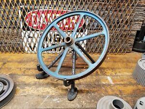 Vintage industrial steampunk wheel