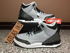 AIR JORDAN 3 RETRO Wolf Grey Nike III 1 4 5 11 12 13 Black Cement DB 88 Bred 4Y