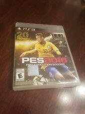 Pro Evolution Soccer PES 2016 PS3